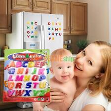 26PCS COLORFUL ABC ALPHABET FRIDGE MAGNET Funny LEARNING EDUCATIONAL TOYS Gift