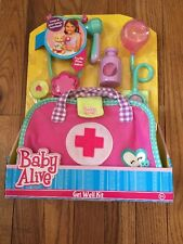 NEW Baby Alive Get Well Kit Doctor Nurse Play Set A6
