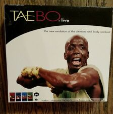 Taebo Live: The New Evolution of the Ultimate Total Body Workout 4 VHS Tape Set