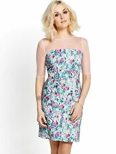 Fearne Cotton Floral Print Summer Shift Dress  UK 20