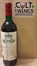 RP 96 pts! 1990 Chateau Leoville Las Cases St. Julien Bordeaux wine. Listing 3/5