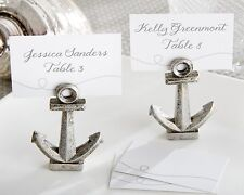 18 Nautical Anchor Beach Theme Place Card Holders Wedding Favors
