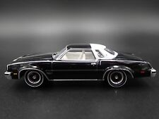 1977 OLDS CUTLASS SUPREME EBONY BLACK 1/64 DIECAST COLLECTIBLE MODEL CAR
