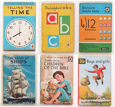 Six Ladybird Books from the 1960s & 1970s.