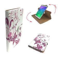 Handy Schutzhülle - TrekStor WinPhone 4.7 HD Hülle Case 360° Schmetterling 3 S