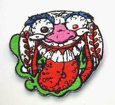 MAD BASEBALL BALL HORROR   Embroidered Sew Iron On Cloth Patch Badge APPLIQUE