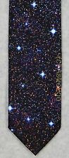 SPACED OUT--STARS SPACE ASTRONOMY SCIENCE Wild Ties Microfiber Necktie NEW!