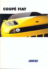 Fiat Coupe 2.0 20v & Turbo original sales brochure 1994 French market