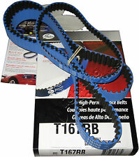 Gates Racing T167RB Timing Belt EVO 8 EVO 9 4G63 Turbo - Timing belt + Balance