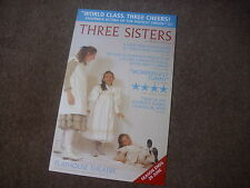 THREE SISTERS  Anton Chekhov Play  PLAYHOUSE Theatre Original Poster