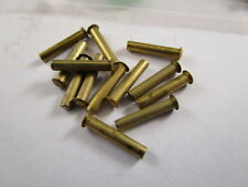 Knife making parts solid brass pins bag 50 Schrade factory in New York USA P19