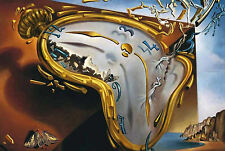 Framed Print - Salvador Dali Melting Watch 1954 (Painting Picture Poster Art)