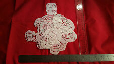 YOUTH ADULT T SHIRT AIRBRUSH STENCILS IRON GUY SET OF 2 FAST FREE SHIP!