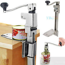 Commercial Catering Kitchen Heavy Duty Bench Clamp Mount Tin Can Opener Cookwear