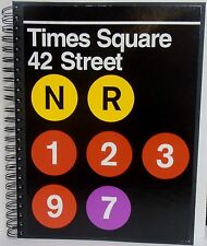 Licensed MTA, New York, Times Square/42 Street, Subway Stop Journal BRAND NEW