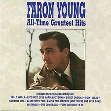 Faron Young / All-Time Greatest Hits (LIKE NW CD) Hello Walls, Riverboat  GREAT