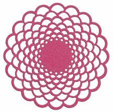 """Estilo de vida artesanía Quickutz Cortar muere Tapete floral dr0247 4 """"x 4"""""""