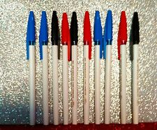 COMBO OFFER 10(4 BLUE+3 RED+3 BLACK) REYNOLD045 CARBUR - 10 ball pen FREE SHIP.
