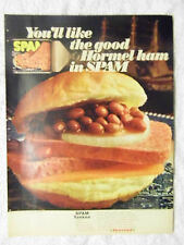 1970 Magazine Advertisement Page For Hormel Spam Yankee Sandwich Food Ad
