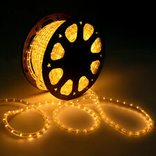 New 150' LED Rope Light 2 Wire Christmas Decorative Party In/Outdoor 110V