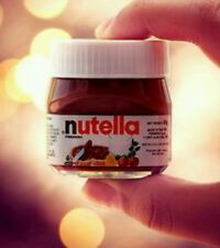 Fresh Nutella Mini Glass Jar 25g Made in Italy. Exp. 09/2017