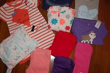 NWT Girls 5 5T 11 Piece Lot NICE Items GYMBOREE CRAZY 8 CARTERS JUMPING BEAN