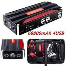 68800mAh Multi-function Car Jump Starter Booster Emergency Power Bank Charger HP