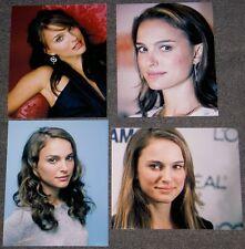 SET OF FOUR NATALIE PORTMAN,10 x 8 PHOTO'S,BARGAIN LOT,SET.FREE P&P! 42