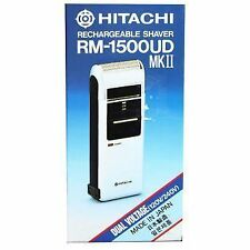 Hitachi RM-1500UD MK II Cordless Rechargeable Travel Shaver Razor Dual Voltage