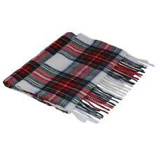 Scottish 100 % Wool Tartan Clan Scarf Stewart Dress Made in Scotland Brand New