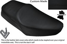 BLACK STITCH CUSTOM FITS YAMAHA SR 125 DUAL LEATHER SEAT COVER