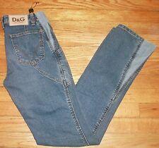 NWT $200+ Sz 29 Eu 43 28x33 Blue Dolce & Gabbana D&G Zipper leg Jeans! 1146