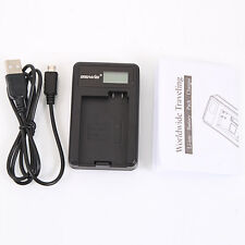 LP-E8 Camera Battery Charger with Screen for Canon Rebel T2i T3i T5i Kiss X5