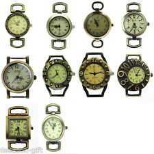 Gift 1Set 10pcs Mixed Retro Quartz Watch Face For Beading