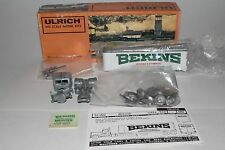 Ulrich HO Scale Model Kit, Bekins Van with Mack COE Tractor, Boxed, Lot #3