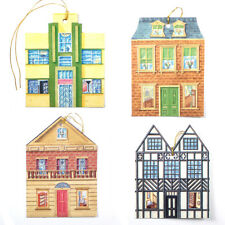 150 Architectural Gift Tags of Tudor, Art Deco, Victorian Edwardian Houses