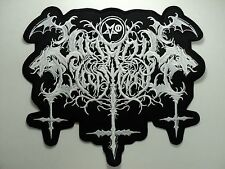 SATANIC WARMASTER  EMBROIDERED BACK PATCH