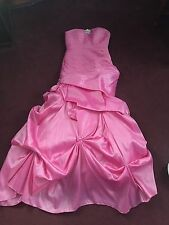 fuschia dress Gown -Prom Formal Bridesmaid