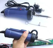 New 30W 220V 50Hz Electric Vacuum Solder Sucker / Desoldering Pump / Iron Gun