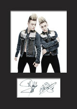JEDWARD #1 A5 Signed Mounted Photo Print - FREE DELIVERY