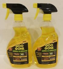 2 Goo Gone Grill & Grate Super Strength Gel Power 24 Fl Oz ea NEW!