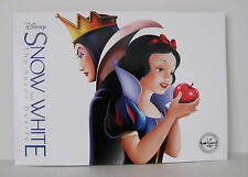 Lot of 4 Disney 2016 Snow White And The Seven Dwarfs Commemorative Lithographs
