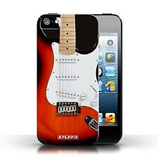 STUFF4 Case/Cover for Apple iPhone 5/5S/Guitar/Red Electric
