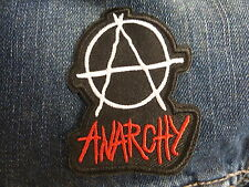 ECUSSON PATCH THERMOCOLLANTS ANARCHY biker outlaw punk skins mods rockabilly