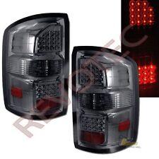 14-16 GMC Sierra 1500 / Sierra 2500HD Pickup Smoke LED Tail Lights Lamps