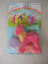 My Little Pony ~ Gen 1 ~ Big Brother Steamer ~ On Card ~ Hasbro 1986