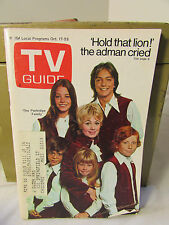 Vintage  OCT 17, 1970  TV GUIDE The Partridge Family TV SHOW