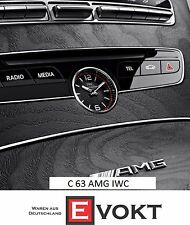 IWC Mercedes-Benz C63 AMG Analog Clock For W205 A2058271200 Genuine New