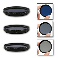 67mm Slim Adjustable Color Conversion Effect Fader ND Blue Lens Filter 67