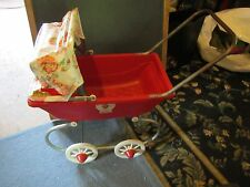 Vintage 1981 Coleco Strawberry Shortcake Baby Doll Coach buggy stoller carrier